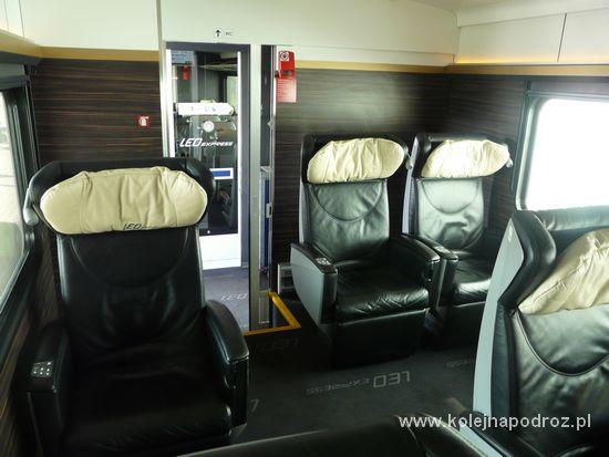 Leo Express - klasa Premium