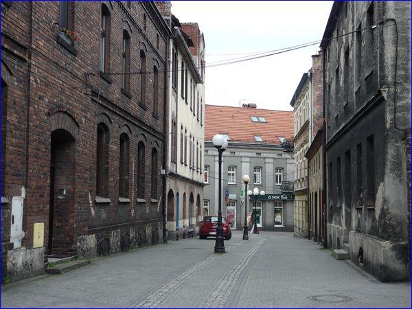 Mikołów - boczna uliczka