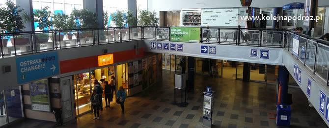 Dworzec Ostrava hlavní nádraží – informacje