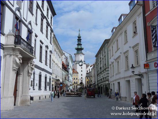 Bratysława - Brama Michalska i Wieża