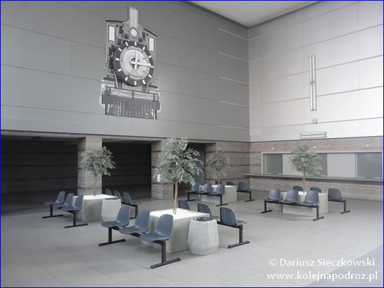 Bytom - wyremontowany hol dworca kolejowego