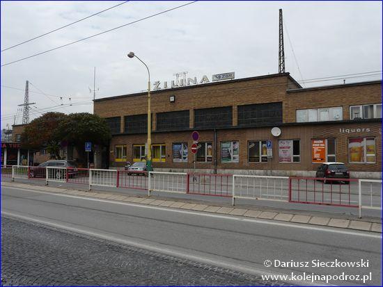 Żylina - dworzec kolejowy