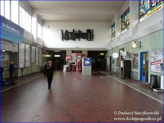 Żylina - hol główny dworca kolejowego