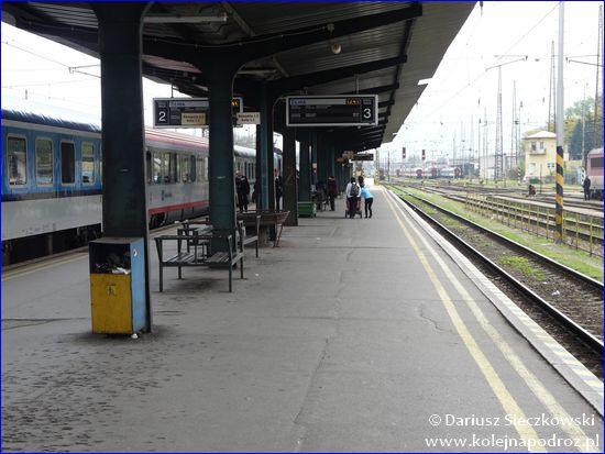 Żylina - peron