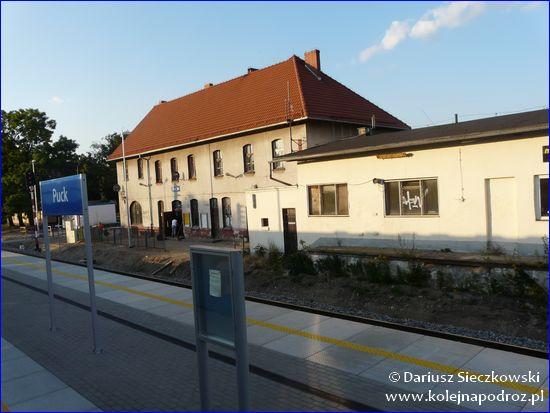 Puck - dworzec kolejowy