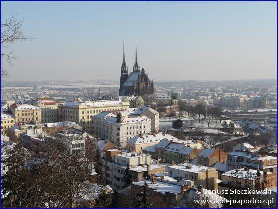 Brno - panorama centrum