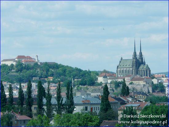 Brno - twierdza Špilberk i katedra św. Piotra i Pawła