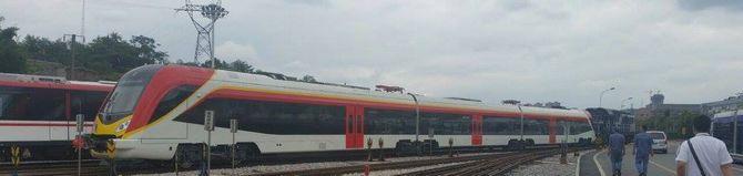 Nowe pociągi w Macedonii – zdjęcia