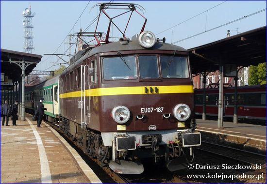 Przewozy Regionalne - pociąg InterREGIO Piast