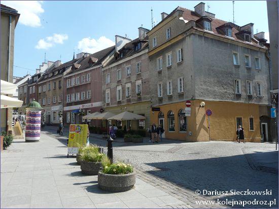 Olsztyn - ulica Prosta (deptak)
