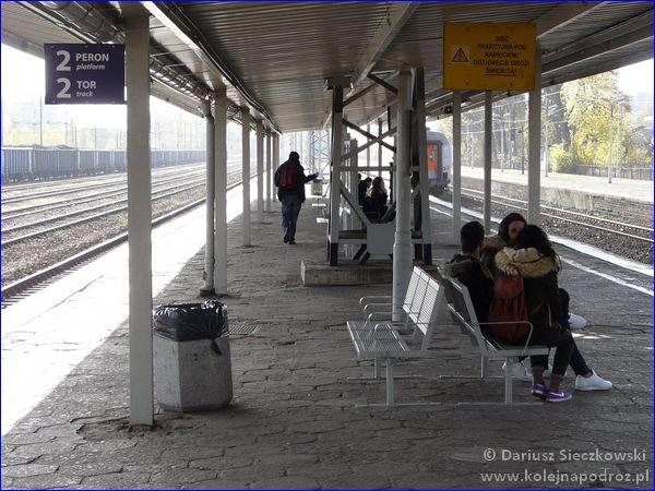 Katowice Ligota - peron 2