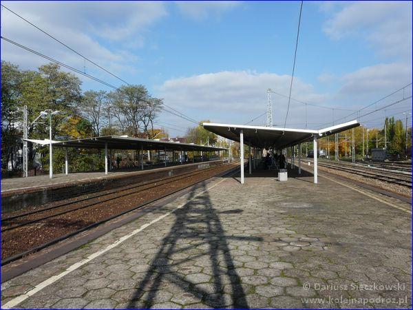 Katowice Ligota - widok na perony