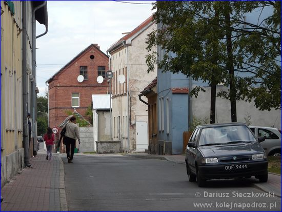 Lewin Brzeski - uliczka w centrum