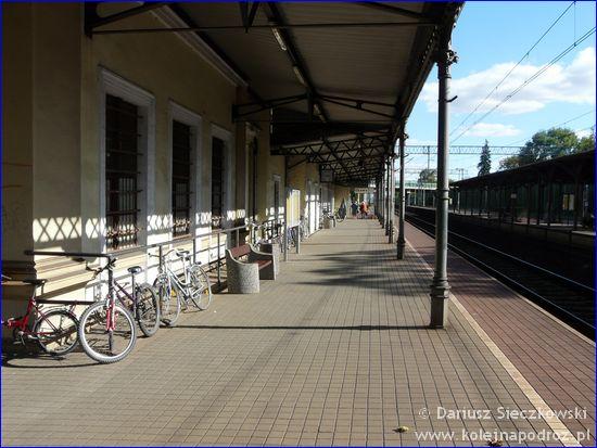 Oława - peron 1