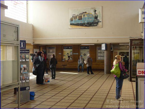Hranice na Moravě - hol dworca