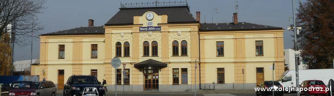 Nový Jičín město – stacja kolejowa