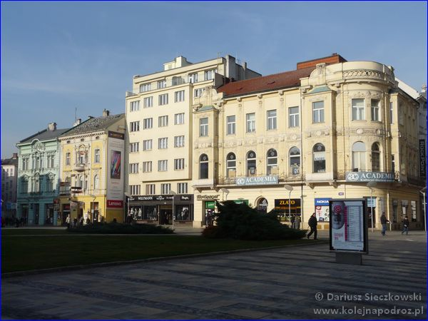 Ostrawa - Plac Masaryka