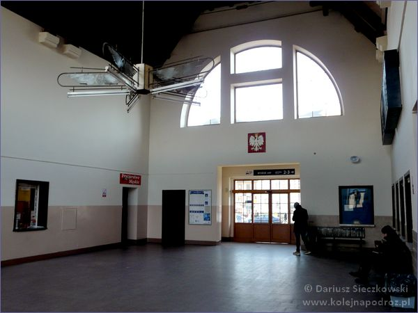 Żywiec - dworzec kolejowy - hol