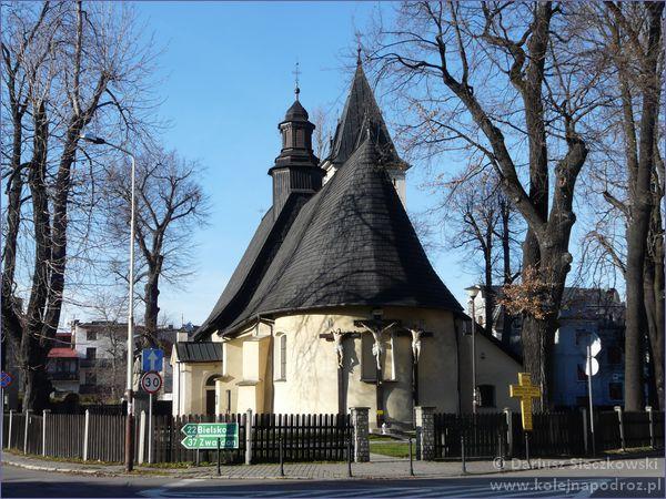 kościół św. Krzyża w Żywcu