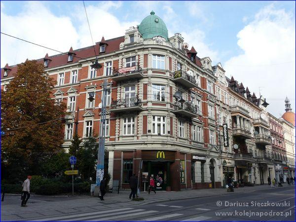 ulica Zwycięstwa w Gliwicach