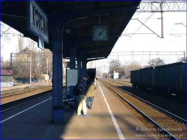Kościan - dworzec kolejowy - peron 2