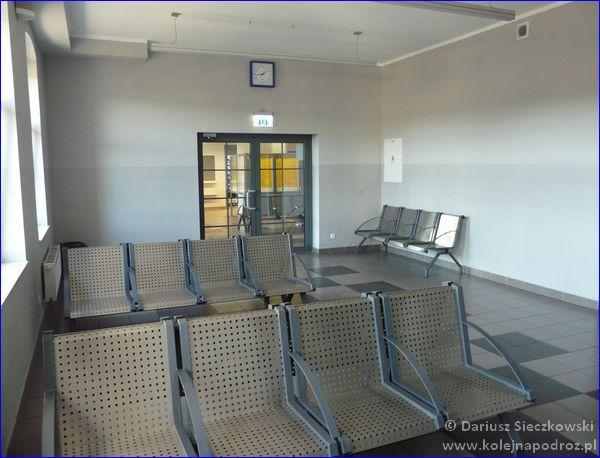 Kościan - dworzec kolejowy - poczekalnia