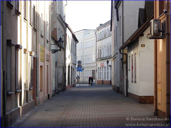 Leszno - ulica Zakątek
