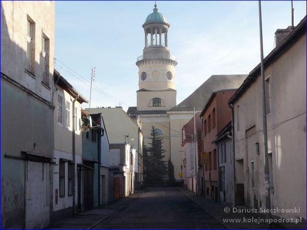 Rawicz - uliczka w centrum