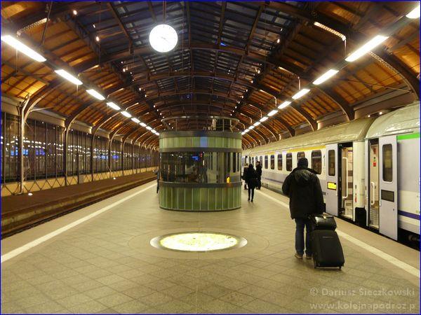 Wrocław Główny - peron