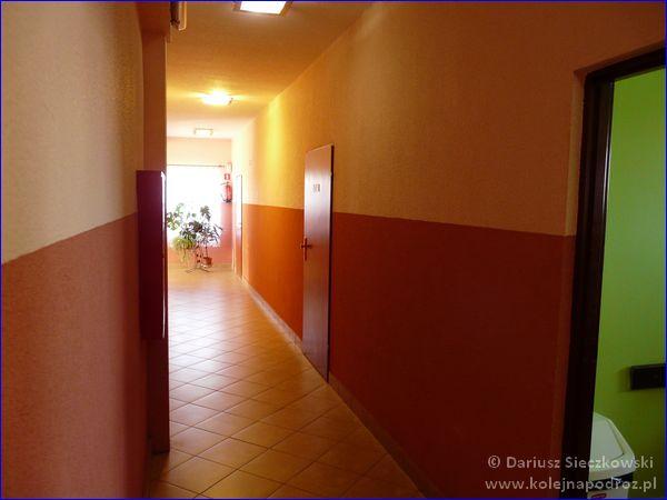 Hotel Sportowy w Rawiczu - korytarz