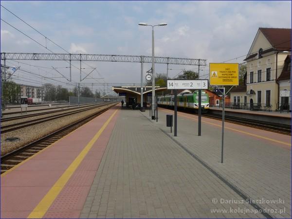 Grodzisk Mazowiecki - peron 2