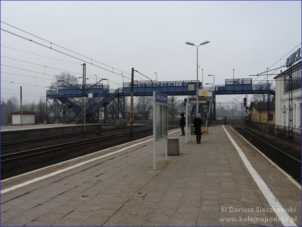 Łowicz Główny - peron 1