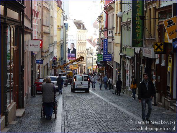Liberec - ulica Praska