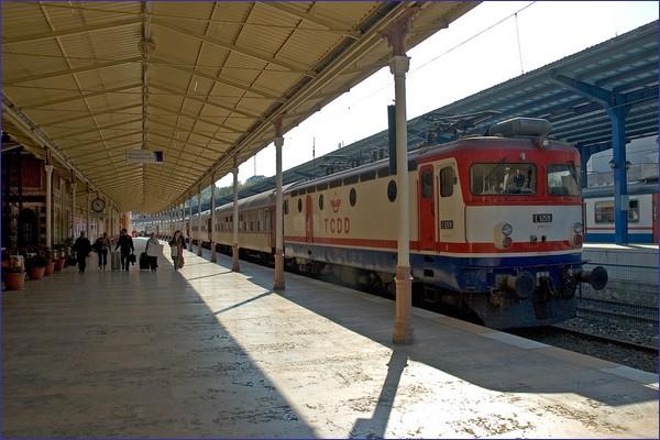 Pociąg Sofia - Stambuł