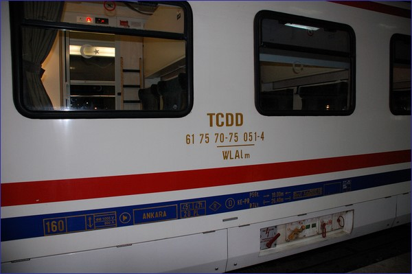 TCDD - wagon sypialny