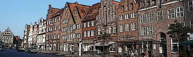 Lüneburg – spacer po zabytkowym centrum