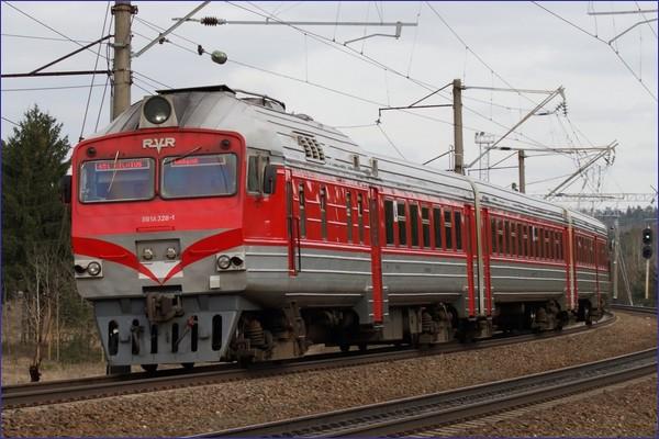 Pociąg Wilno - Dyneburg (źródło: koleje litewskie)