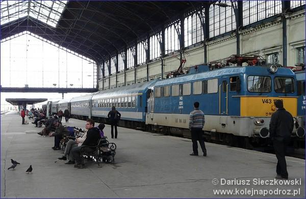 Pociągiem na Węgry