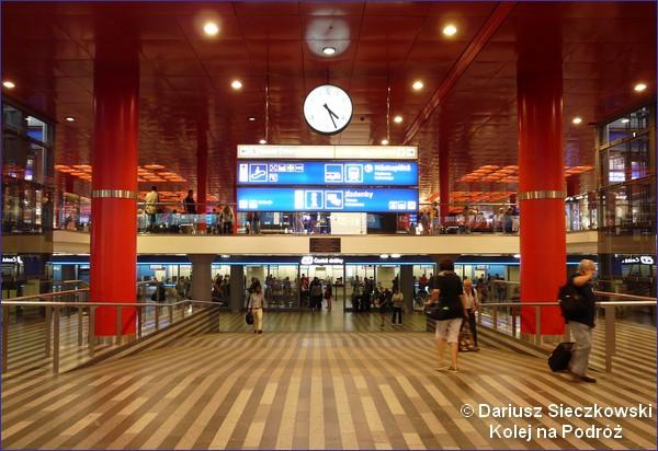 Dworzec główny w Pradze