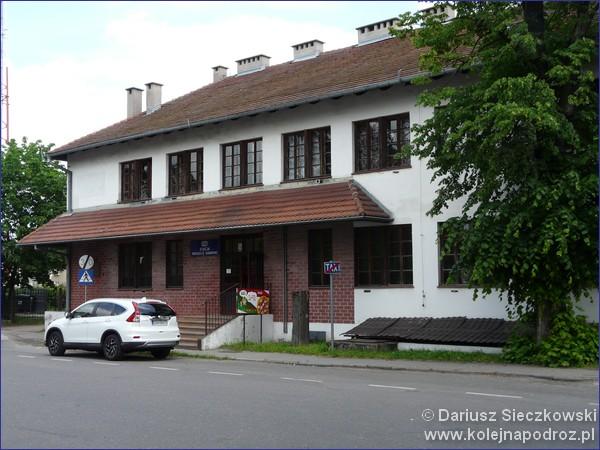 Dworzec w Pruszczu Gdańskim