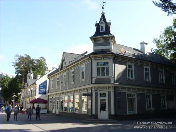 Reprezentacyjny deptak w Jurmale