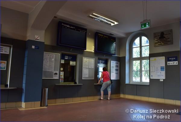 Dworzec w Pszczynie - kasy