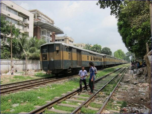Bangladesz pociąg