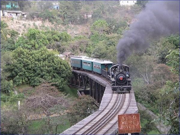 Gwatemala pociąg