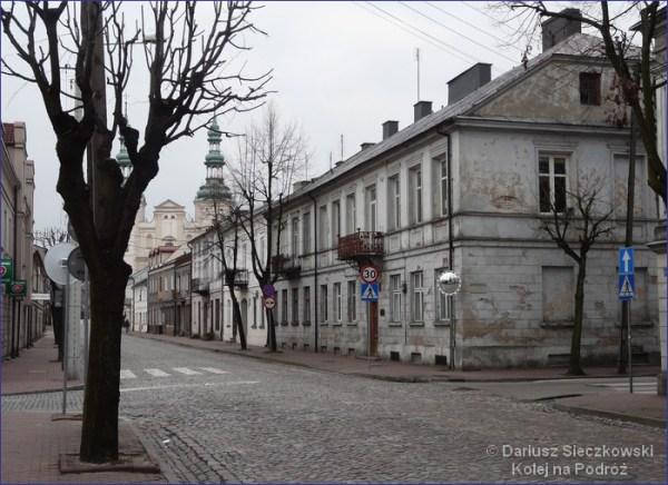 Łowicz ulica Podrzeczna