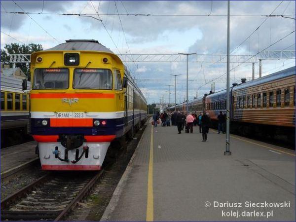 Pociąg Ryga - Dyneburg