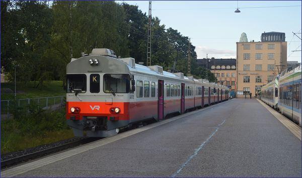 Finlandia - pociąg podmiejski