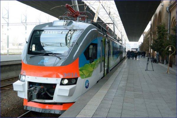Armenia - pociąg