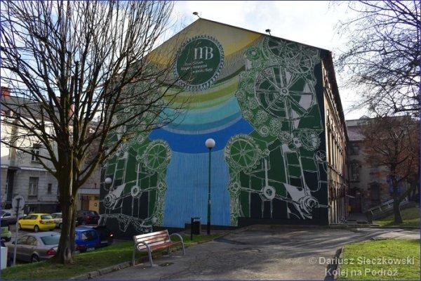 Stara Fabryka mural