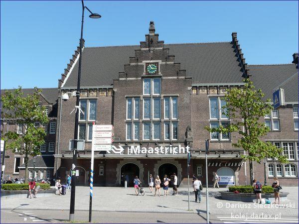 Dworzec kolejowy w Maastricht